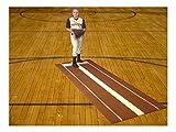 3' x 9' Clay Nylon Softball Pitching Mat Mounds Aid On 5mm Foam Power Lane Pro
