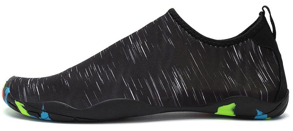 Femmes Hommes Plong/ée Chaussures deau Chaussettes de Sport Aquatique Chaussons de Plage Surf Yoga S/échage Rapide id/éaux pour Nager