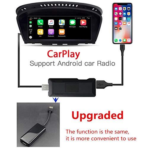 Elitemill Autoradio 7 Pouce 2 Din Bord Satellite Autoradio T/ête USB Android Navigation Lecteur Smart Link Dongle pour Ios Pomme Carplay Android Auto