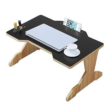 eac0375dd Escritorio Simple De La Cama Nuevo 60x40x28cm Partículas De Madera Maciza  Mesa Plegable Mesa Pequeña Lap Lap Table Lazy  Amazon.es  Hogar