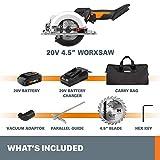 WORX WX523L.2 20V 1.5Ah Cordless Lithium Worxsaw