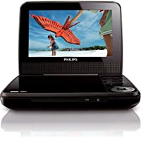 Philips 7 Portable DVD Player PET741B (Certified Refurbished)