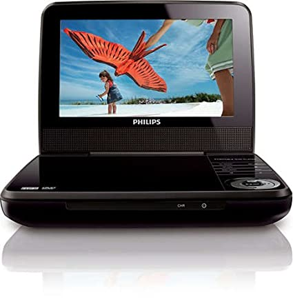 "Review Philips 7"" Portable DVD"