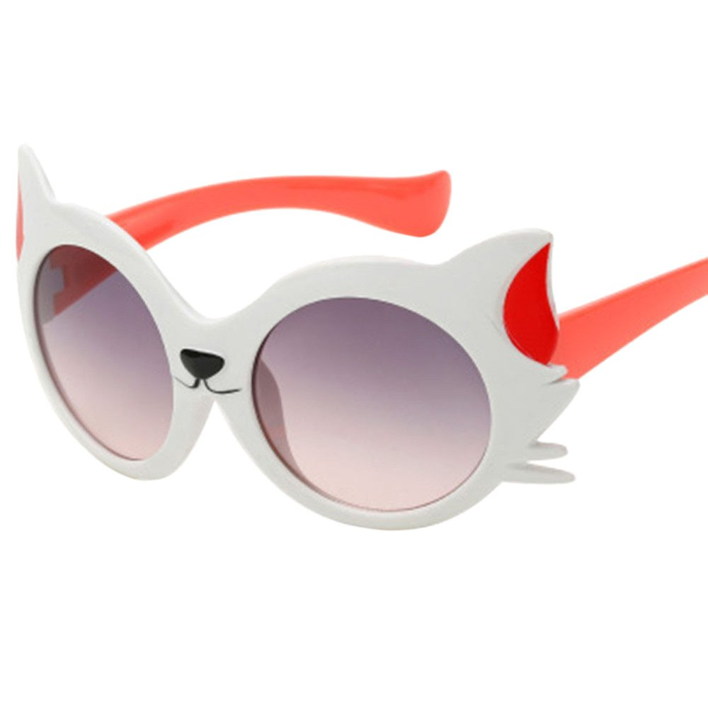 Children Sunglasses Baby Girls Boy Cartoon Cat UV400 Toddler Sunglasses