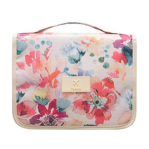 fanbufan Travel Cosmetic Makeup Bag Case Wash Organizer Toiletry Storage...
