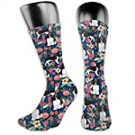 Gifts - Breathable Compression Socks Mid-Calf Crew Socks For Women Men 7