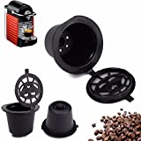 Bazaar Home Kitchen Refillable Coffee Capsule Cup Reusable Refilling Filter For Nespresso Machine