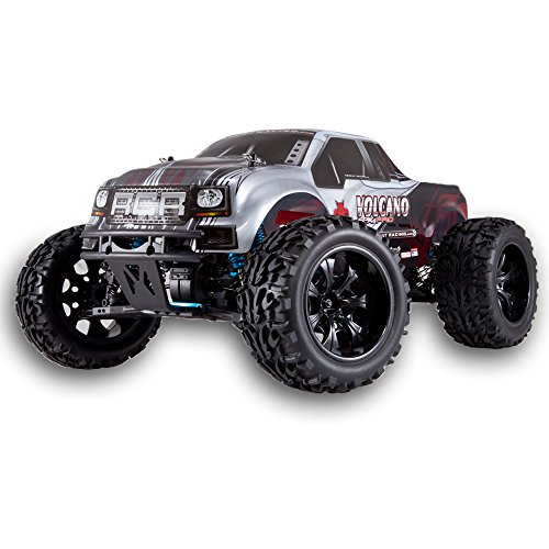 - Redcat Racing Volcano EPX PRO Brushless Electric Truck (1/10 Scale), Black/Silver