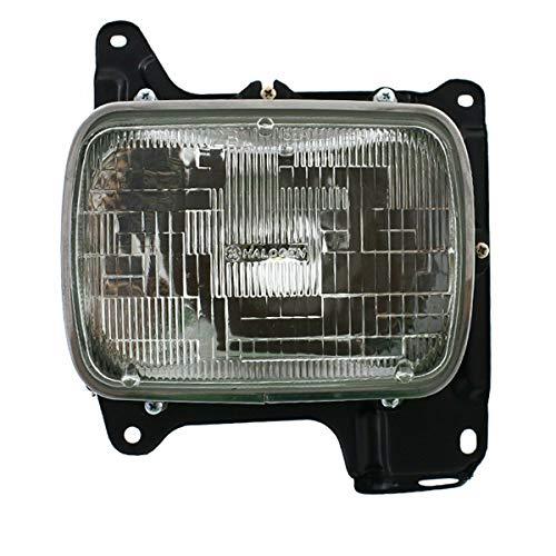 Partomotive For 86-97 D21 Pickup Truck Front Headlight Headlamp Head Light Lamp Driver Side