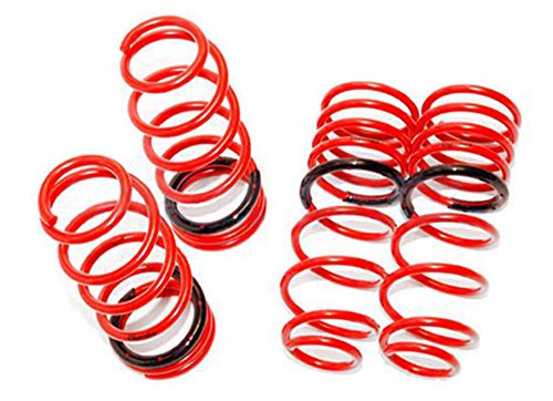 (Tanabe TGF107 GF210 Lowering Spring with Lowering Height 1.0/0.5 for 2005-2006 Subaru Impreza WRX/STI)