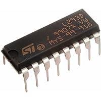 4pcs Robojax L293D Quadruple Half-H Drivers DC and Stepper Motor controller for Arduino