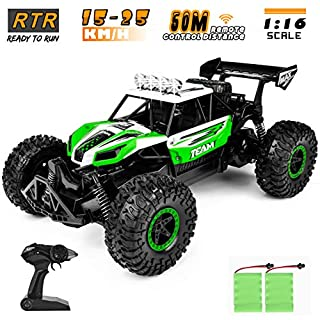 Cradream Remote Control Car ,1:16 Fast Rc Cars Toy, 2020 Newest Off Road Hobby Remote Control Vehicle Truck for Boys Teens Adults
