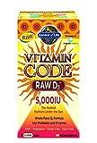 Garden of Life Vitamin Code Raw D3 5,000 IU, 120 Capsules
