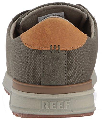Reef Mens Mission Se La Mode Sneaker Olive