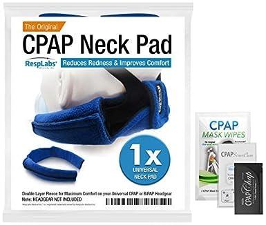 resplabs repuesto original de CPAP – Protector de cabeza + forro polar funda de tela de