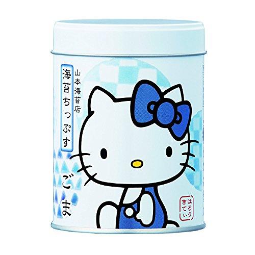 Yamamoto-Noriten x Hello Kitty Seaweed Chips Flavored Seaweed Assorted 4 flavors(Plum, Sesami, Yuzu Honey, Curry) Made in Japan [Japan Import] by Yamamoto-Noriten (Image #2)