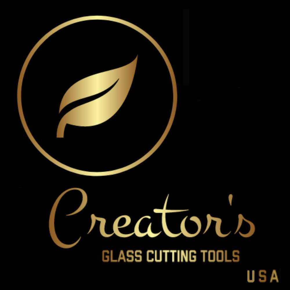 Creator's Beetle Bits Mini Glass Cutting System Portable Work Station For Geometric Shapes COMPLETE WITH 2 Waffle Grids AND Push Button Flying Beetle Glass Cutter INCLUDED - DIY - Made In The USA by Creator's (Image #5)