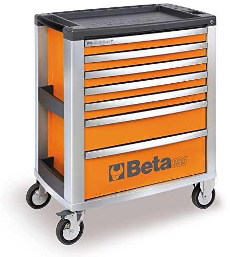 BETA UTENSILI C39 Mobile Roller Cabinet With 7 Drawers