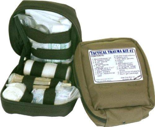 Aid Trauma Kit, Olive Drab (Emblem Olive Drab)