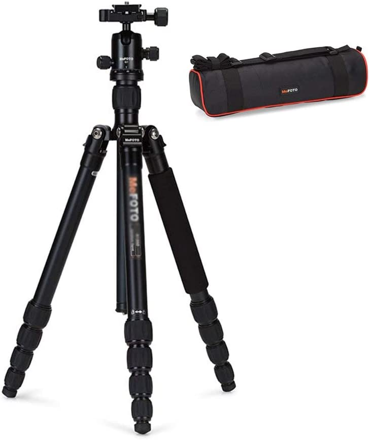 Can Be Used As Outdoor Trekking Pole Size : High 134Cm Portable Camera Tripod Lightweight Tripod Aluminum Alloy Camera Tripod Extendable Monopod Can Withstand 8Kg Weight