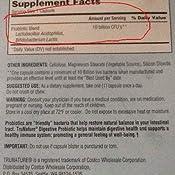 Amazon Com Trunature Digestive Probiotic Capsules 100