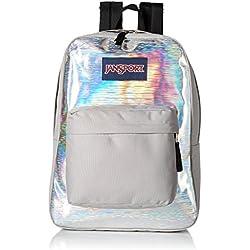 JanSport High Stakes Backpack (Silver Hologram)
