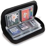 Accmart (TM) Wasserdicht 22 Slots SD-Karte Halter Aufbewarung Tasche Etui Box