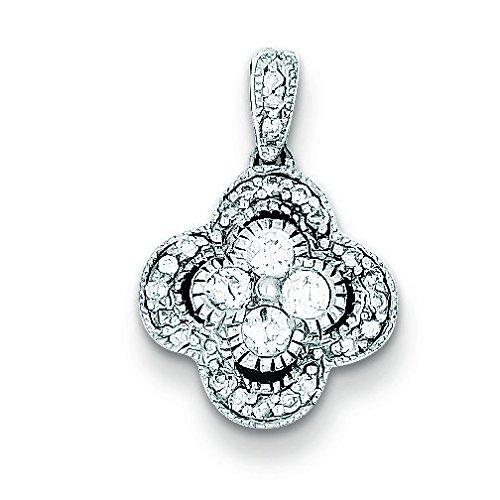Argent 925/1000-Diamant blanc-JewelryWeb