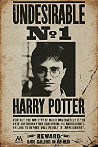 Harry Potter - Undesirable No 1 Poster 24 x 36in