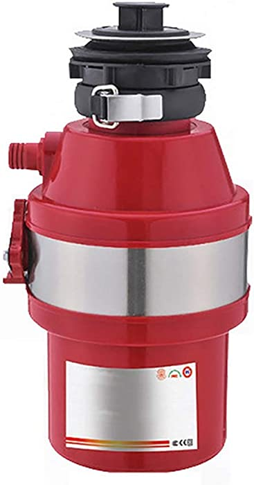 Food Waste Disposer, Household Compact Feed Kitchen Garbage Disposal,370W,1800 RPM,220V