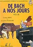 De Bach à nos jours Volume 5B