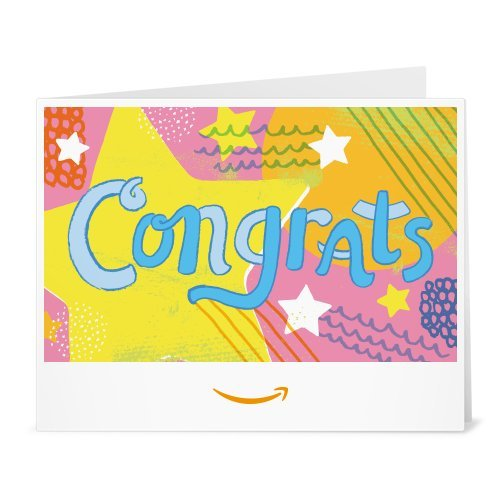 Amazon Gift Card - Print - Congrats