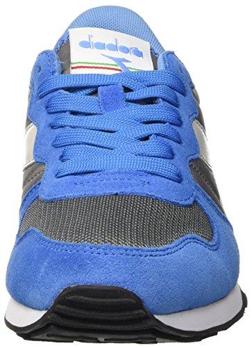 – Acciaio Blu Adulto Sportive Grigio Basse Scarpe Azzurro Unisex Blu Diadora Camaro AqawXU