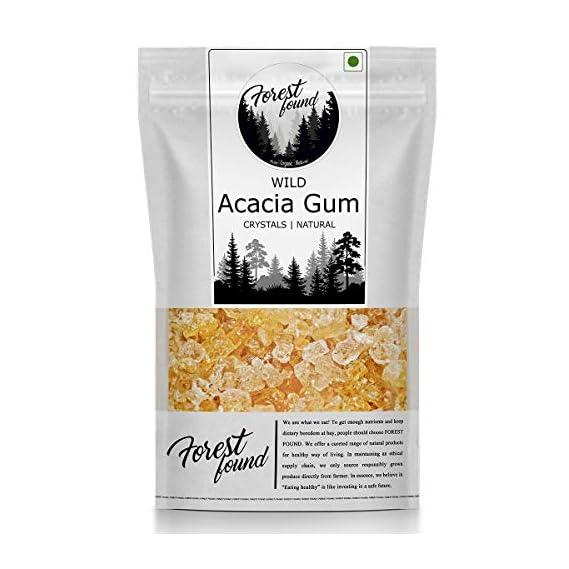 Forest Found Wild Acacia Edible Gum   Babool Gond for Ladoo   Kikar, Dink,Gum Arabic (250 Gram)