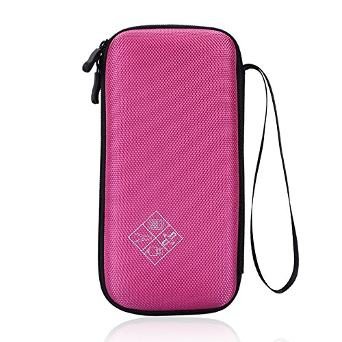 for Texas Instruments TI-84 / Plus CE 85/89/83/Plus Graphing Calculator Travel Bag Protective Pouch -Extra Room for Pen and Accessory