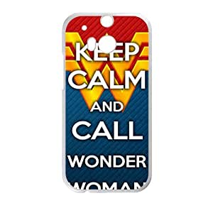 Keep Calm And Call Wonder Cell Phone Case for HTC One M8