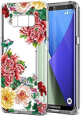 52ad730d9a8 Eouine Funda Samsung Galaxy S8 Plus, Cárcasa Silicona 3D Suave Gel TPU  Transparente con Dibujos Diseño [Antigolpes] de Protector Fundas para Movil  Samsung ...