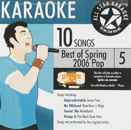 Karaoke: Best of Spring 2006 Pop 5
