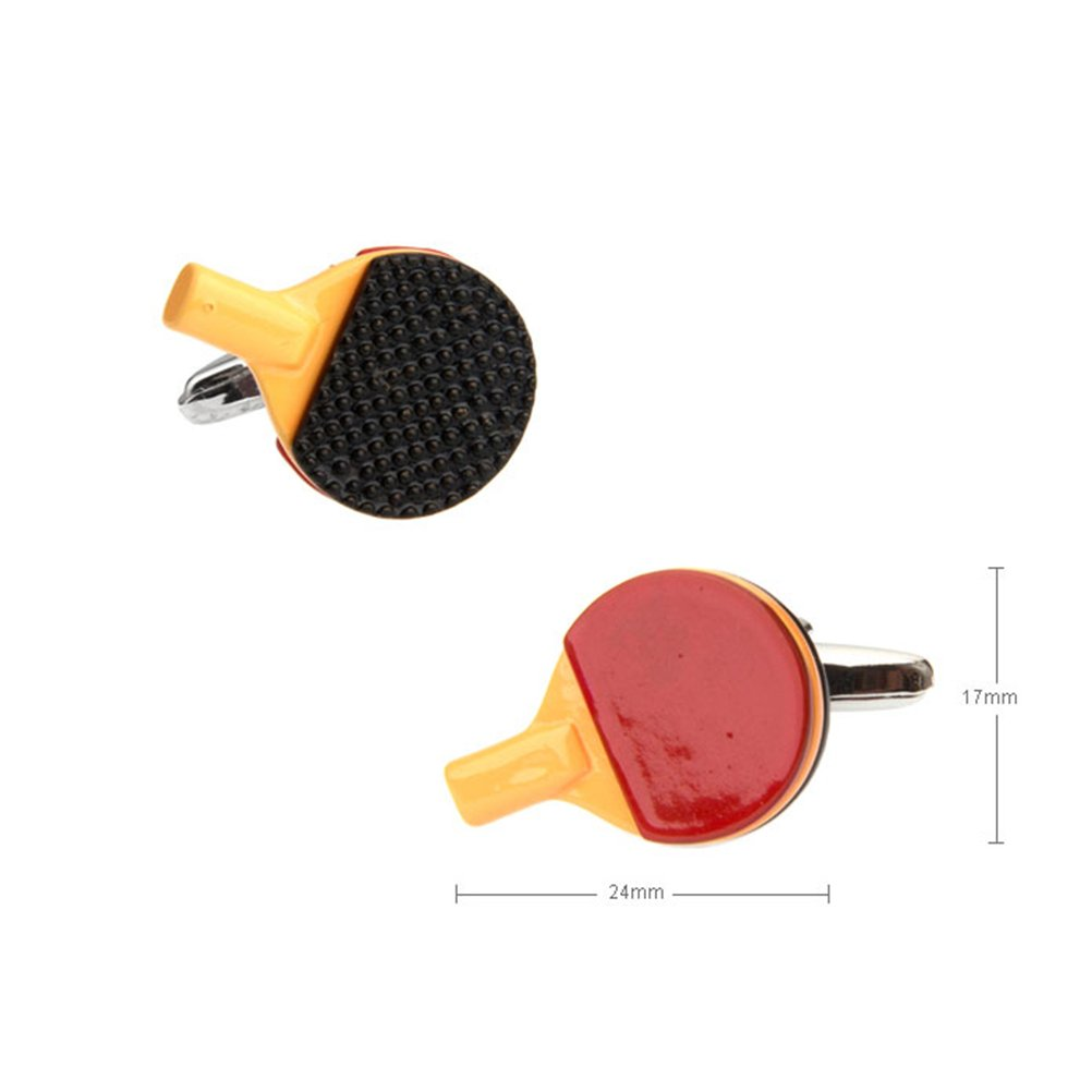 Ping Pong Table Tennis Sports Cufflinks