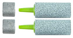 Marine Metal Glass Bead Airstones Diffusers With Weights (Pair)