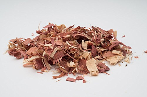 Luna Retail Corp Herbs Fresh Aromatic Cedar Wood Chips, Pest Control, Garden Mulch, Insect Repellent (1 Lb - Chips Garden Wood