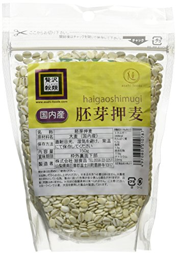 150gX2 or luxury cereal domestic germ rolled barley by Asahi Foods