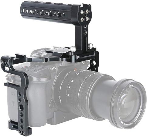 Niceryig Gh5s Gh5 Kamera Käfig Kit Mit Kamera Käse Top Kamera