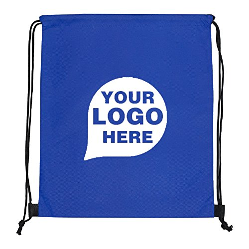 Economy Drawstring Cinch Pack Backpack - 150 Quantity - $1.95 Each - PROMOTIONAL PRODUCT / BULK / BRANDED with YOUR LOGO / CUSTOMIZED by CloseoutPromo
