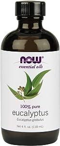 Now Foods Eucalyptus Oil, 4 Fl Oz (2 Count)
