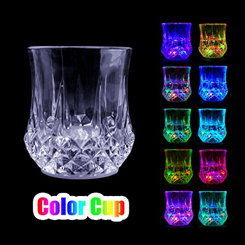 Plastic Shining Led Flash Light Up Party Home Cups