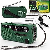 AGM® Degen DE13 Radio FM/MW/SW1/SW2 Rundfunkgerät Rundfunkempfänger Empfänger...