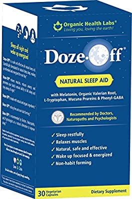 Doze-Off® Natural Sleep Aid- 30 Veggie Capsules - Sleep like you used to!