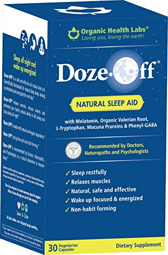 - Doze-Off® Natural Sleep Aid- 30 Veggie Capsules - Sleep like you used to!
