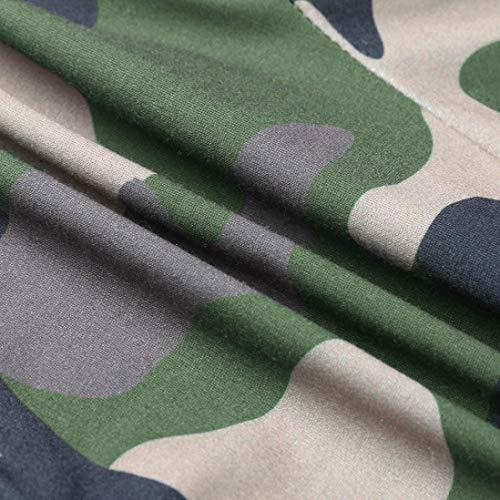 Realdo Hot!Clearance Sale Fashion Men Tight Beam Foot Drawstring Sports Slacks Casual Elastic Pockets Trousers(XXX-Large,Army Green) by Realdo (Image #5)